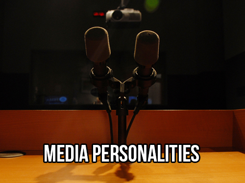 MEDIA PERSONALITIES